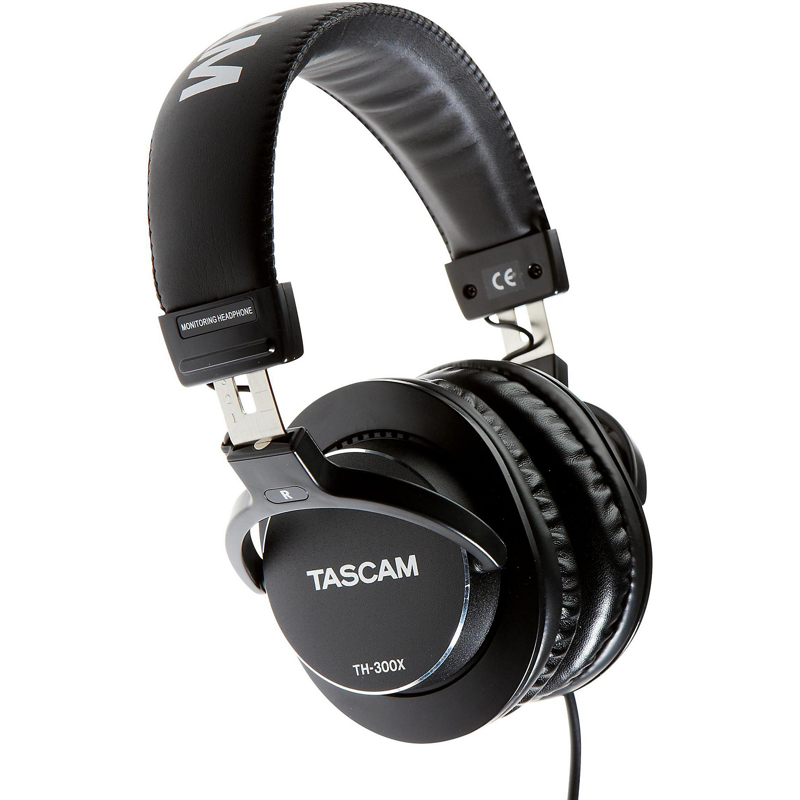 Open Box Tascam TH-300X Studio Headphones
