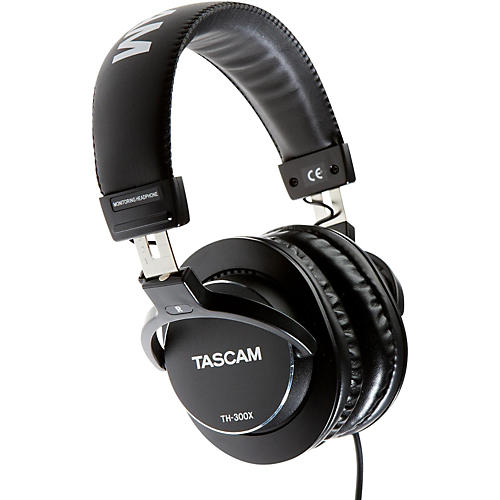 Open Box Tascam TH-300X Studio Headphones