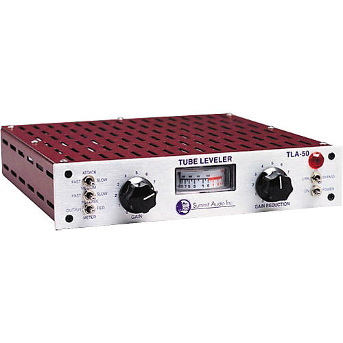 Open Box Summit Audio TLA-50 Tube Leveling Amplifier