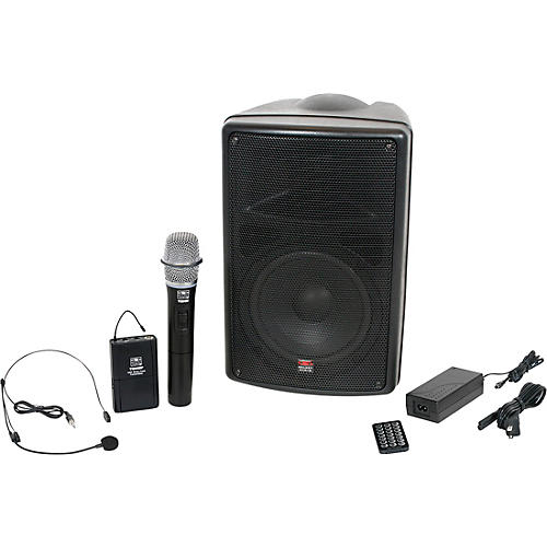 Open Box Galaxy Audio TQ8-24SHN Traveler Quest 8 With 2 Receivers, One Headset, And One Handheld Microphone