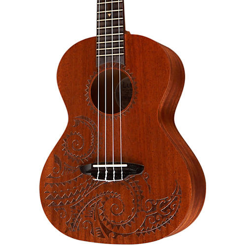 Open Box Luna Guitars Tattoo Tenor Ukulele