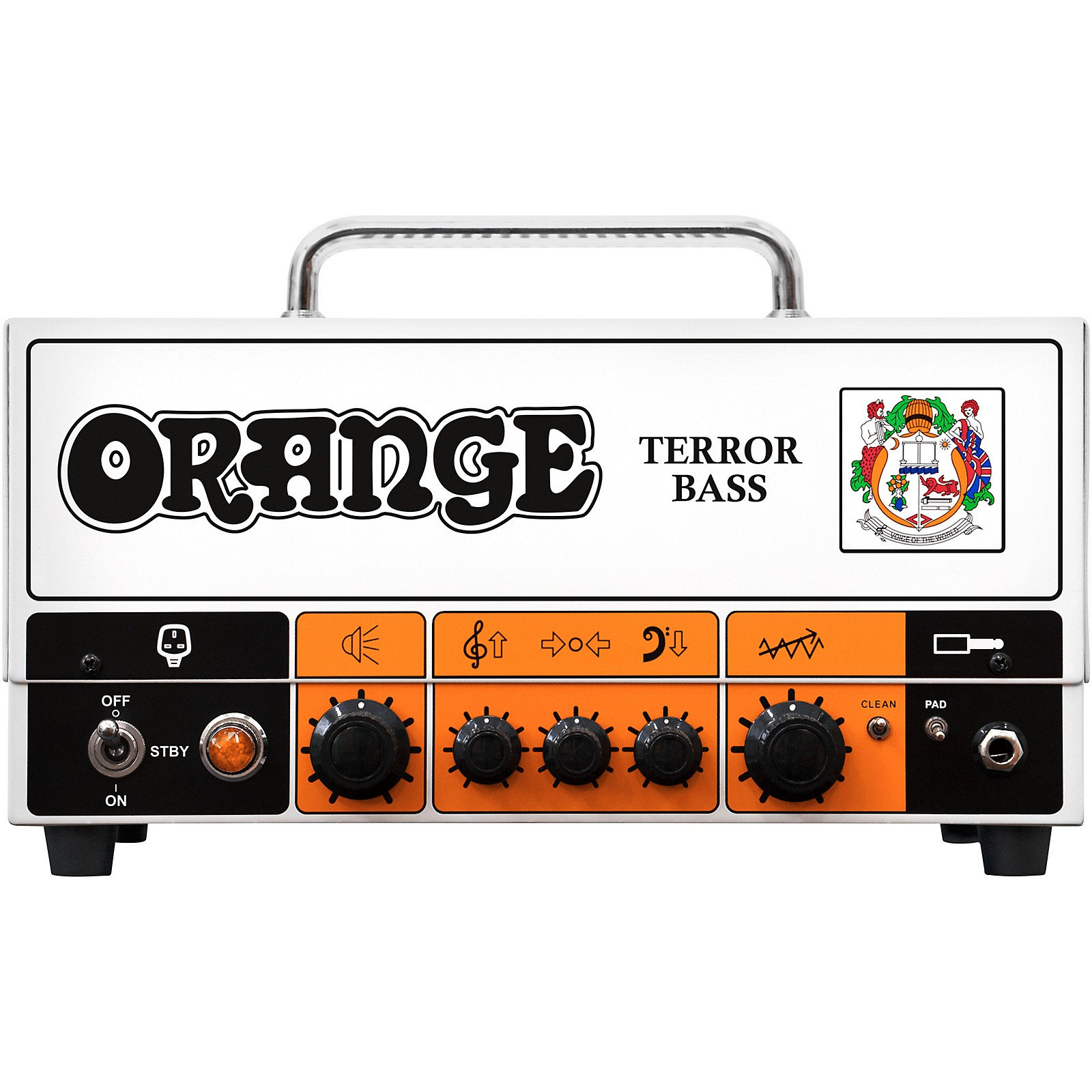 Open Box Orange Amplifiers Terror Bass 500W Tube Hybrid Bass Amp Head