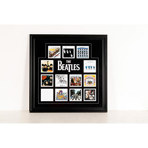 Open Box Mounted Memories The Beatles
