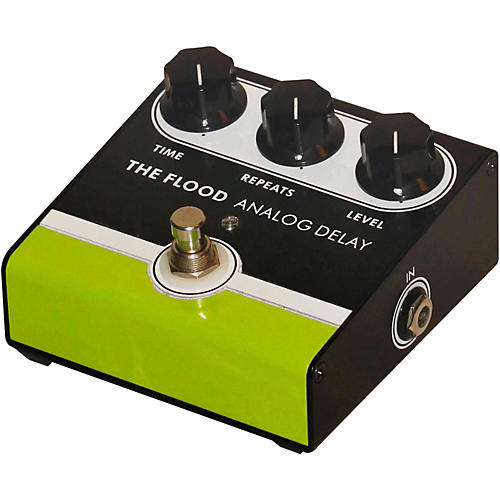 Open Box Jet City Amplification The Flood Analog Delay Guitar Effects Pedal