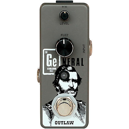 Open Box Outlaw Effects The General Germanium Fuzz Effects Pedal