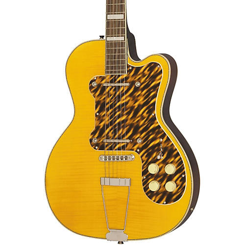Open Box Kay Vintage Reissue Guitars Thin Twin Electric Guitar
