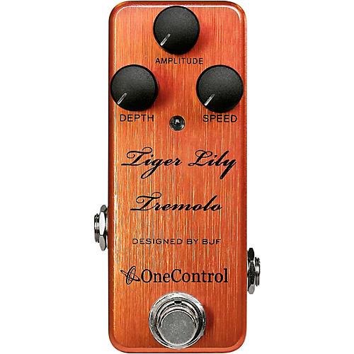 Open Box One Control Tiger Lily Tremolo Effects Pedal