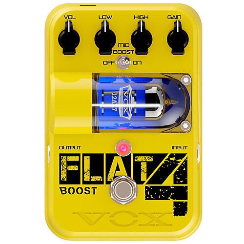 Open Box Vox Tone Garage Flat 4 Boost Guitar Effects Pedal