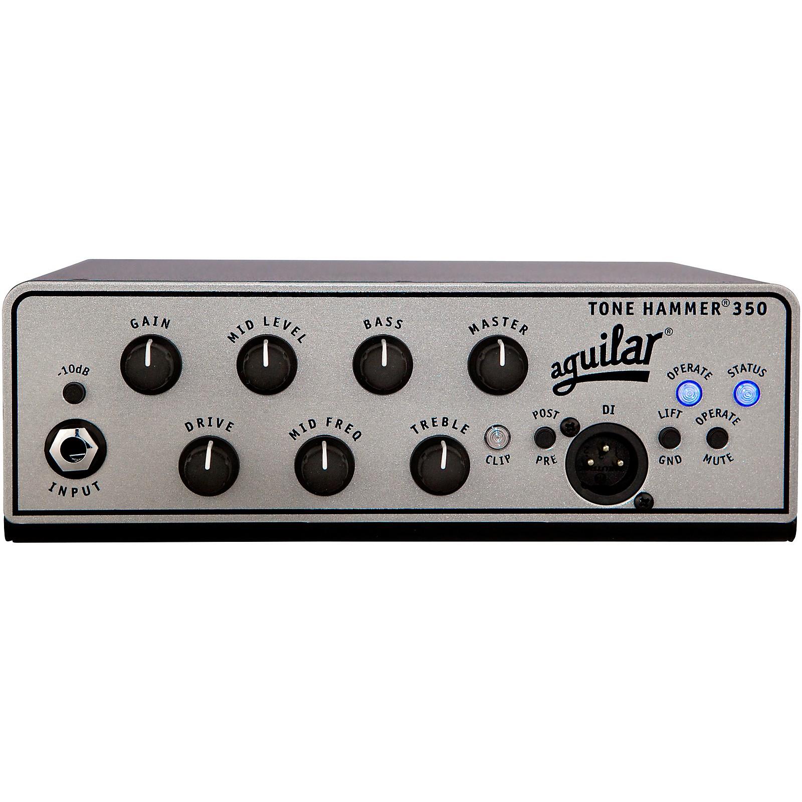 Open Box Aguilar Tone Hammer 350 Bass Amp Head