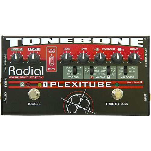 Open Box Radial Engineering Tonebone Plexitube Distortion Pedal