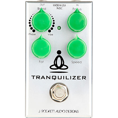 Open Box Rockett Pedals Tranquilizer Phase-Vibe Effects Pedal