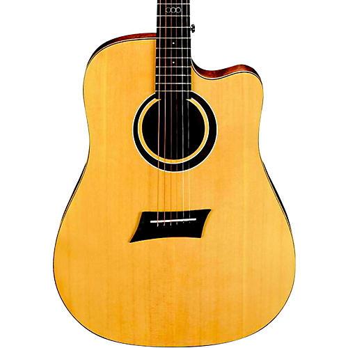 Open Box Michael Kelly Triad CE Dreadnought Cutaway Acoustic Electric Guitar