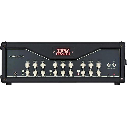 Open Box DV Mark Triple 6 III 120W All-Tube Guitar Head