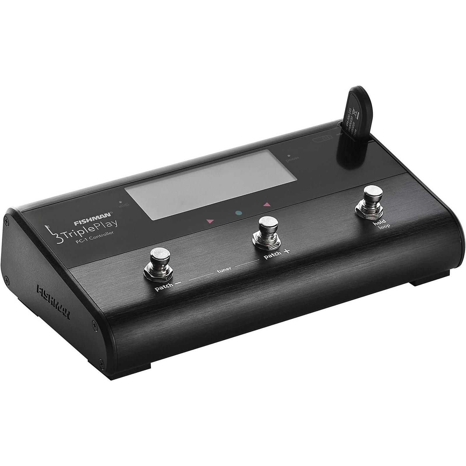 Open Box Fishman TriplePlay FC-1 Floor Controller
