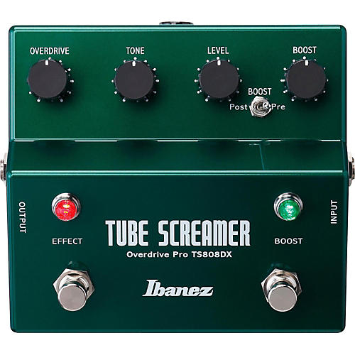 Open Box Ibanez Tube Screamer TS808DX Guitar Effects Pedal