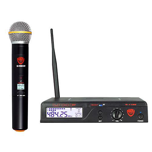 Open Box Nady U-1100 HT – 100 Channel UHF Handheld Wireless Microphone System