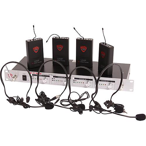 Open Box Nady U-41 Quad HM3 Headset Wireless System (14/16/10/12)
