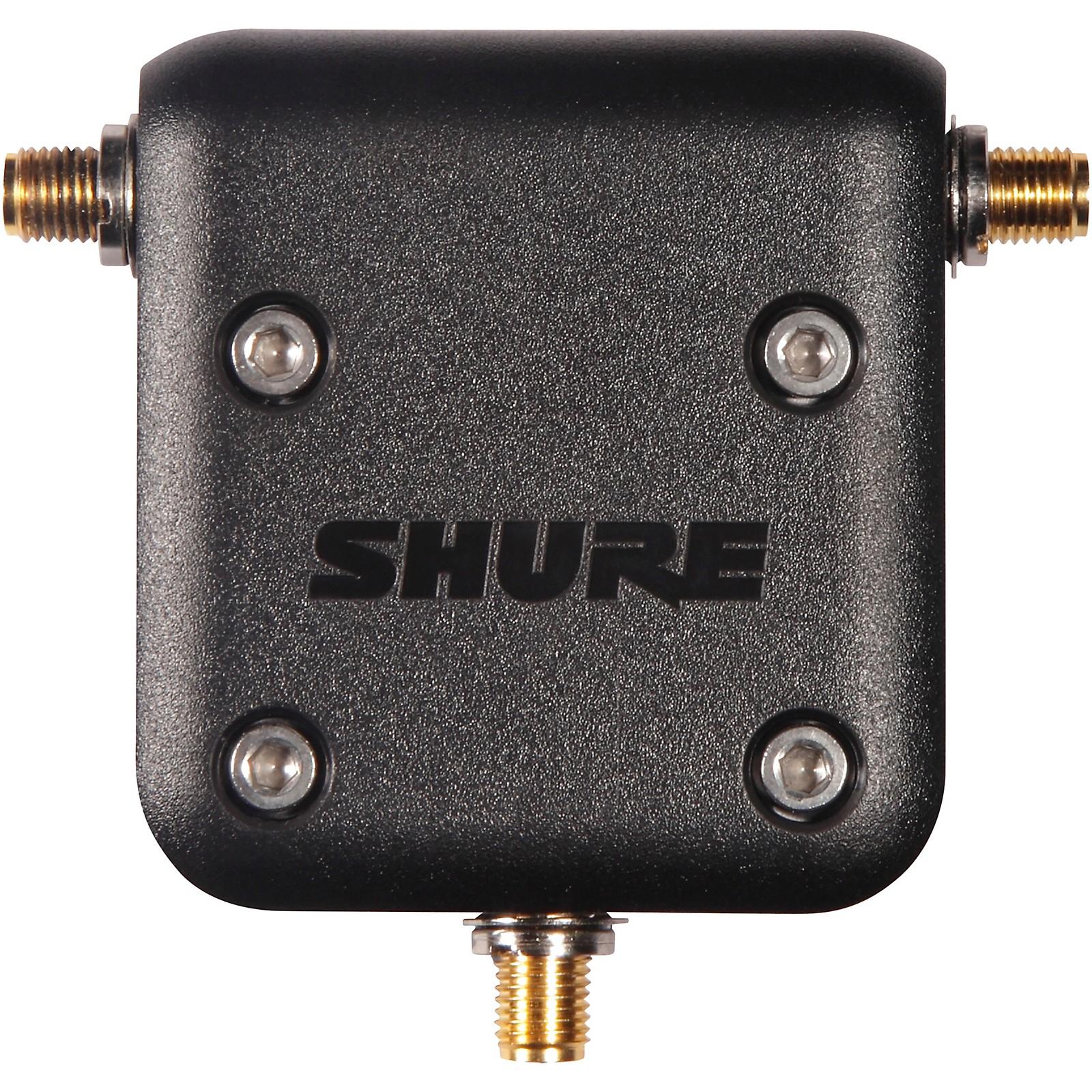 Open Box Shure UA221-RSMA Reverse SMA Passive Antenna Splitter
