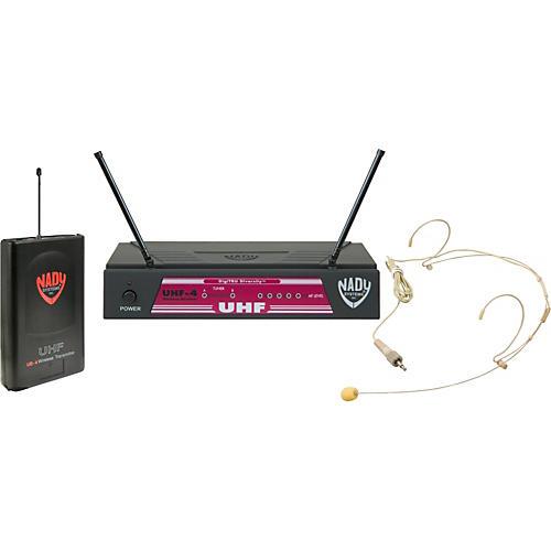 Open Box Nady UHF-4 Headset Wireless System