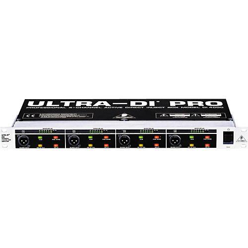 Open Box Behringer ULTRA-DI PRO DI4000 Direct Box