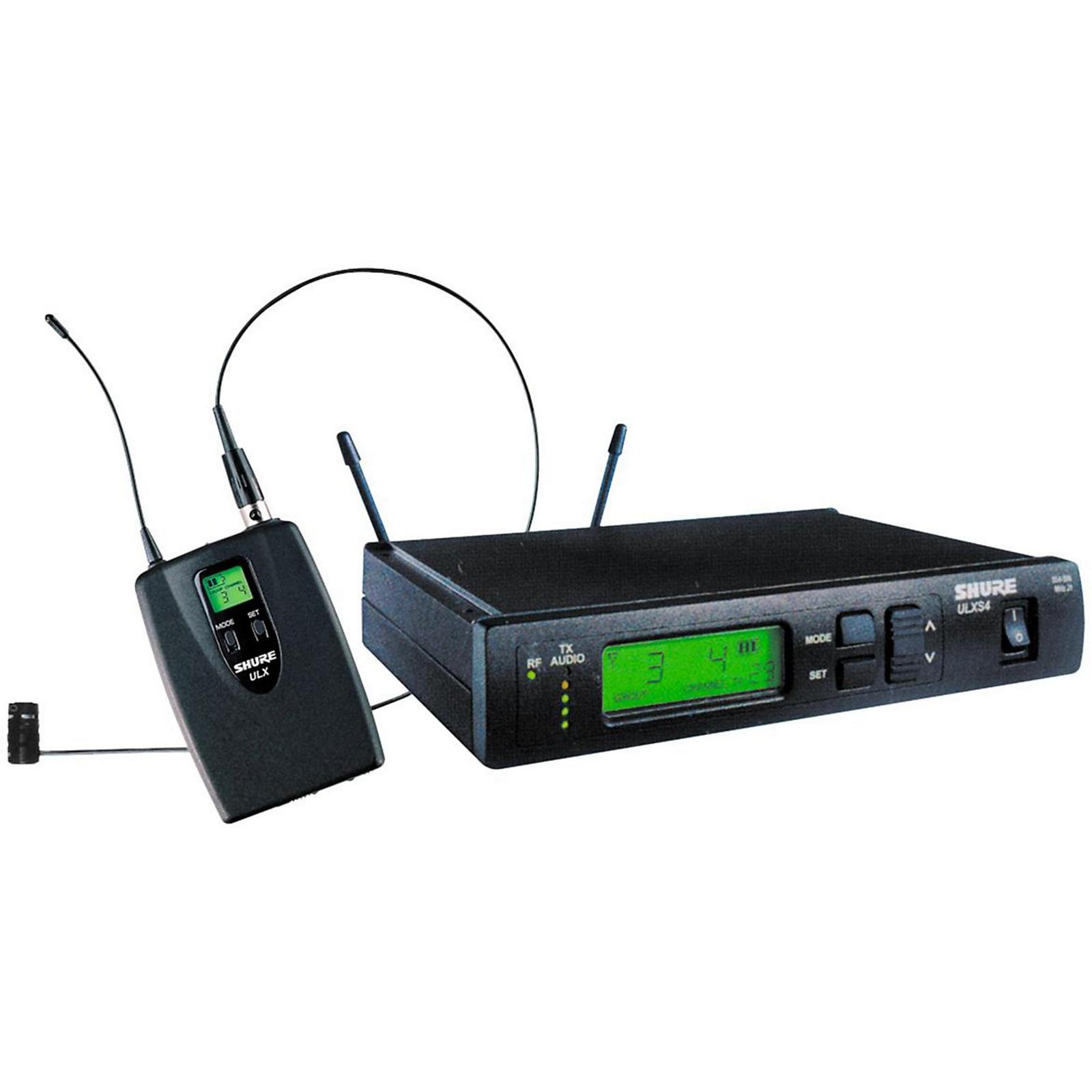 Open Box Shure ULXS14/85 Lavalier Wireless System