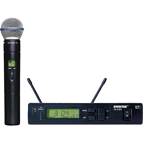 Open Box Shure ULXS24/BETA58 Handheld Wireless Microphone System