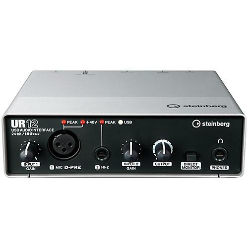 Open Box Steinberg UR12 2x2 USB 2.0 Audio Interface