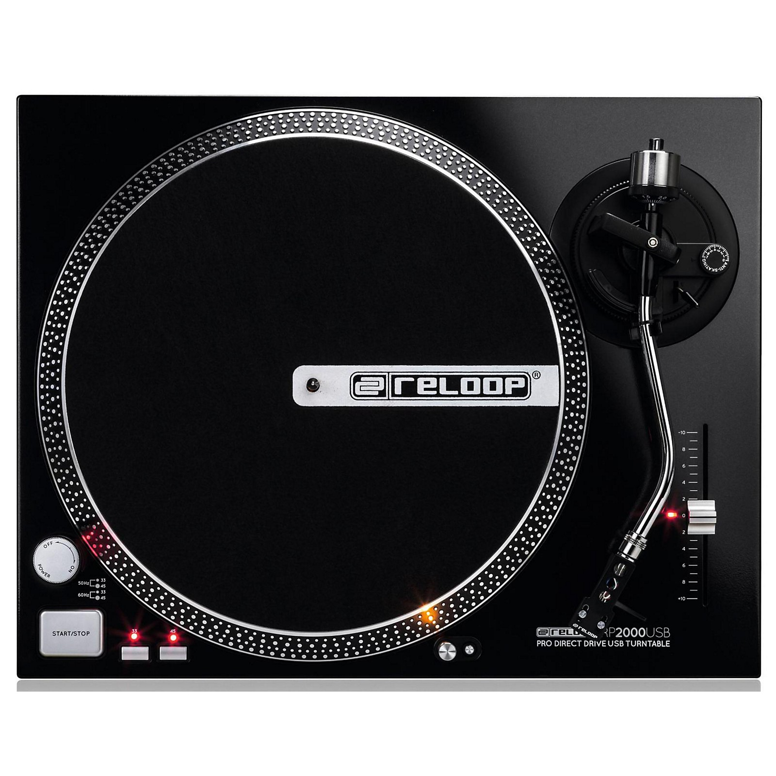 Open Box Reloop USB Direct Drive Turntable
