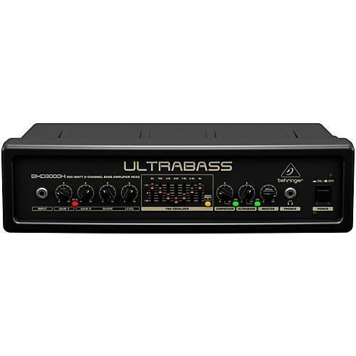 Open Box Behringer Ultrabass 300 Watt 2-Channel 7-Band FBQ Equalizer Bass Amplifier Head