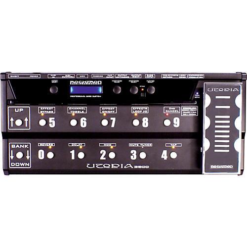 Open Box Rocktron Utopia B-300 Bass Floor Multi-Effects Pedal