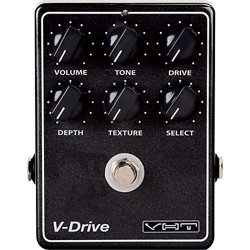 Open Box VHT V-Drive Overdrive Guitar Effects Pedal