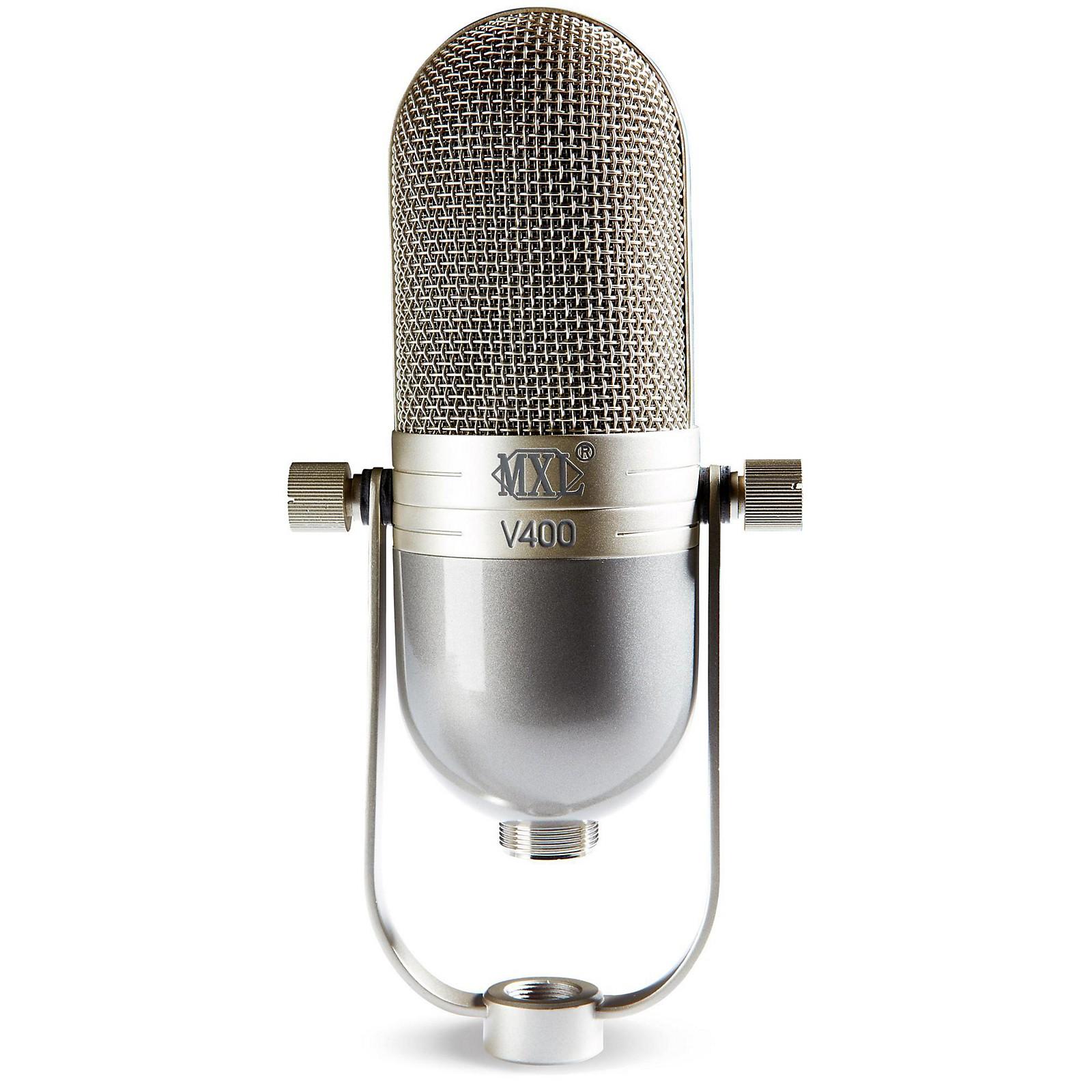 Open Box MXL V400 Dynamic Microphone in a Vintage Style Body