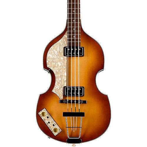 Open Box Hofner Vintage '62 Violin Left-Handed Electric Bass Guitar