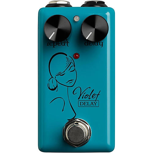 Open Box Red Witch Violet Delay Guitar Effects Pedal