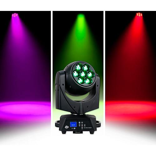 Open Box American DJ Vizi Hex Wash7 RGBAW+UV LED Moving Head Wash Beam with Zoom