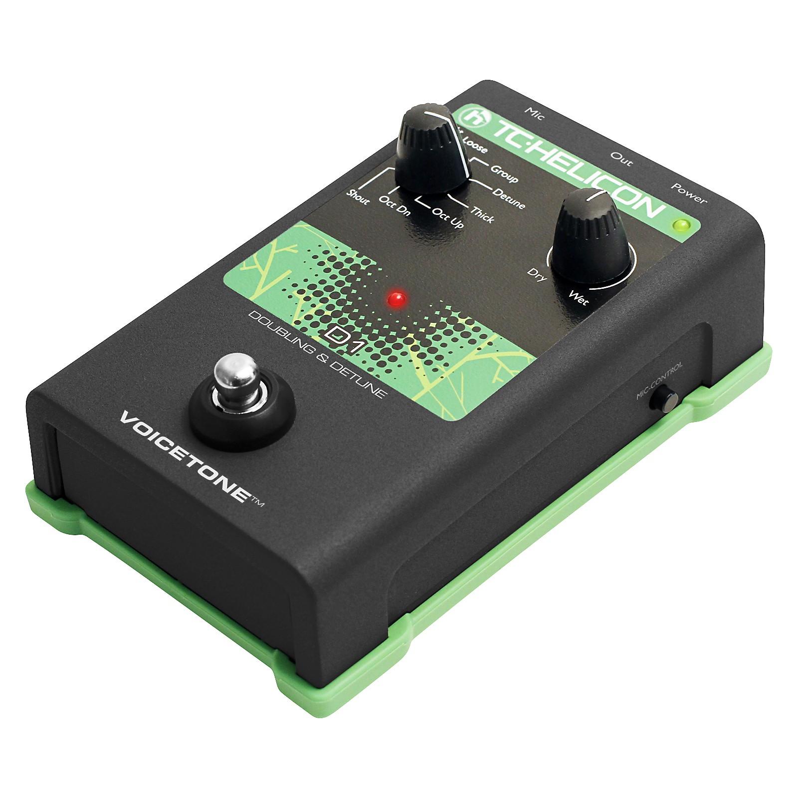 Open Box TC Helicon VoiceTone Single D1 Doubling & Detune