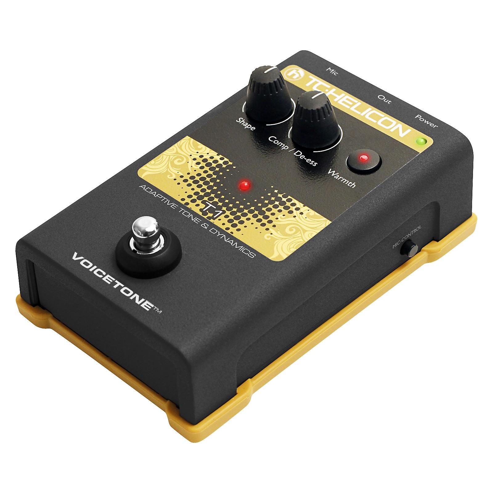 Open Box TC Helicon VoiceTone Single T1 Adaptive Tone & Dynamics