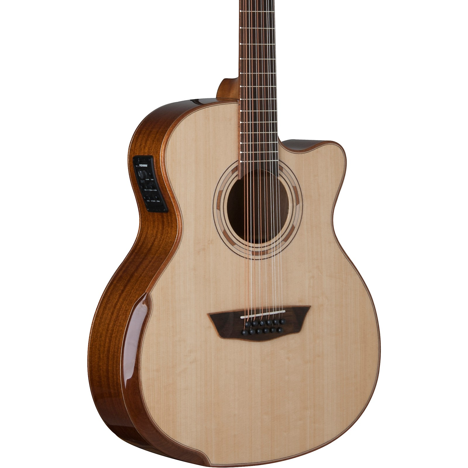 Open Box Washburn WCG15SCE12 12-String Acoustic-Electric Guitar