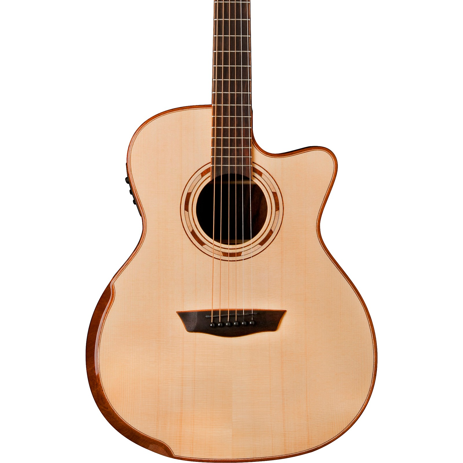 Open Box Washburn WCG25SCE Comfort Series Acoustic-Electric Guitar