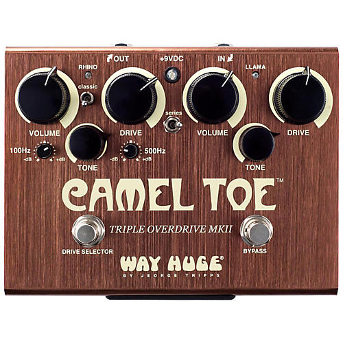 Open Box Way Huge Electronics WHE209 Camel Toe Triple Overdrive MKII