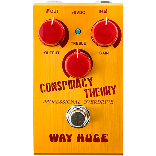 Open Box Way Huge Electronics WM20 Mini Conspiracy Theory Professional Overdrive Effects Pedal