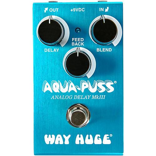 Open Box Way Huge Electronics WM71 Mini Aqua-Puss Analog Delay Effects Pedal