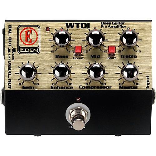 Open Box Eden WTDI World Tour Direct Box/Preamp