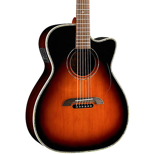 Open Box Alvarez WY1TS Yairi Stage OM/Folk Acoustic-Electric Guitar