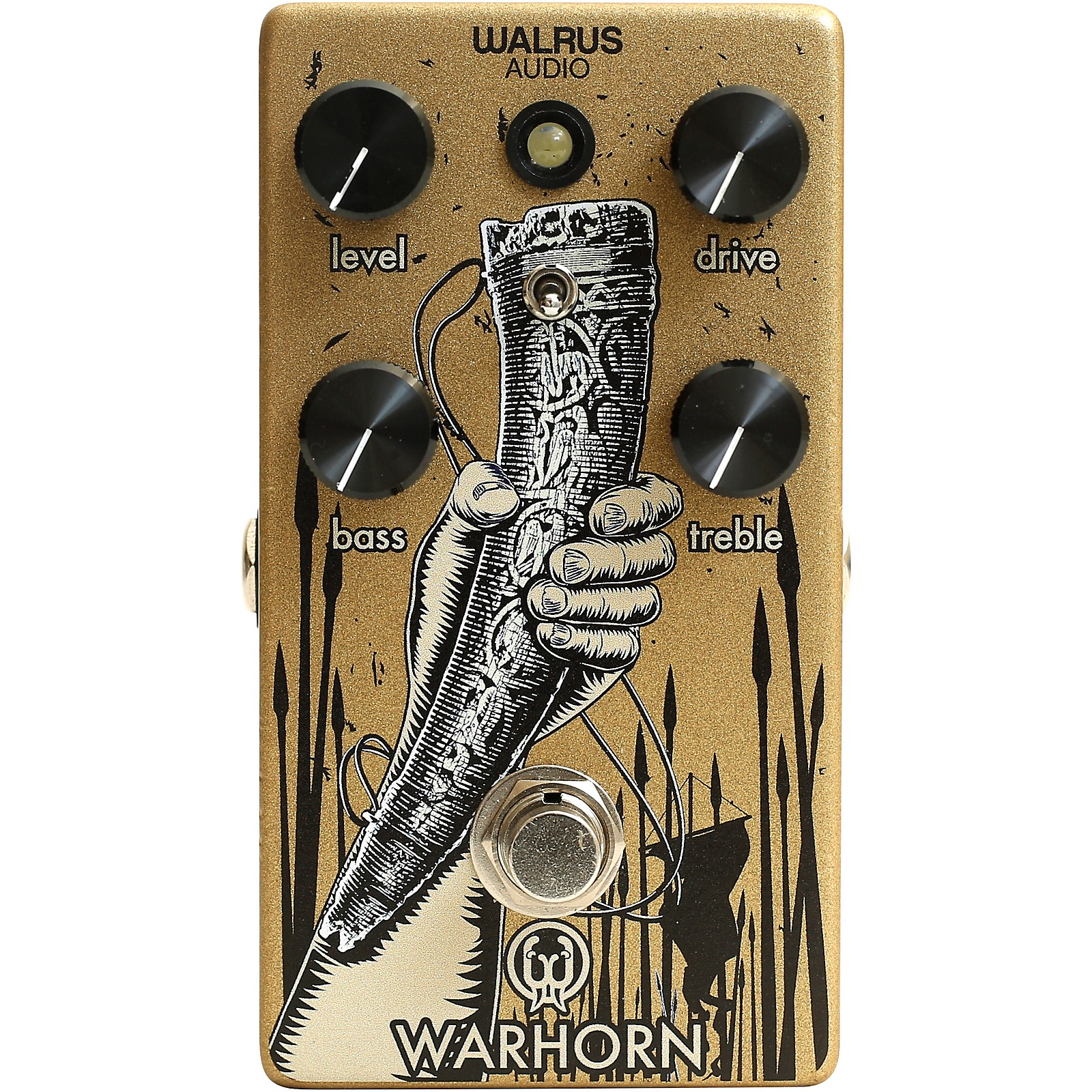 Open Box Walrus Audio Warhorn Overdrive Pedal
