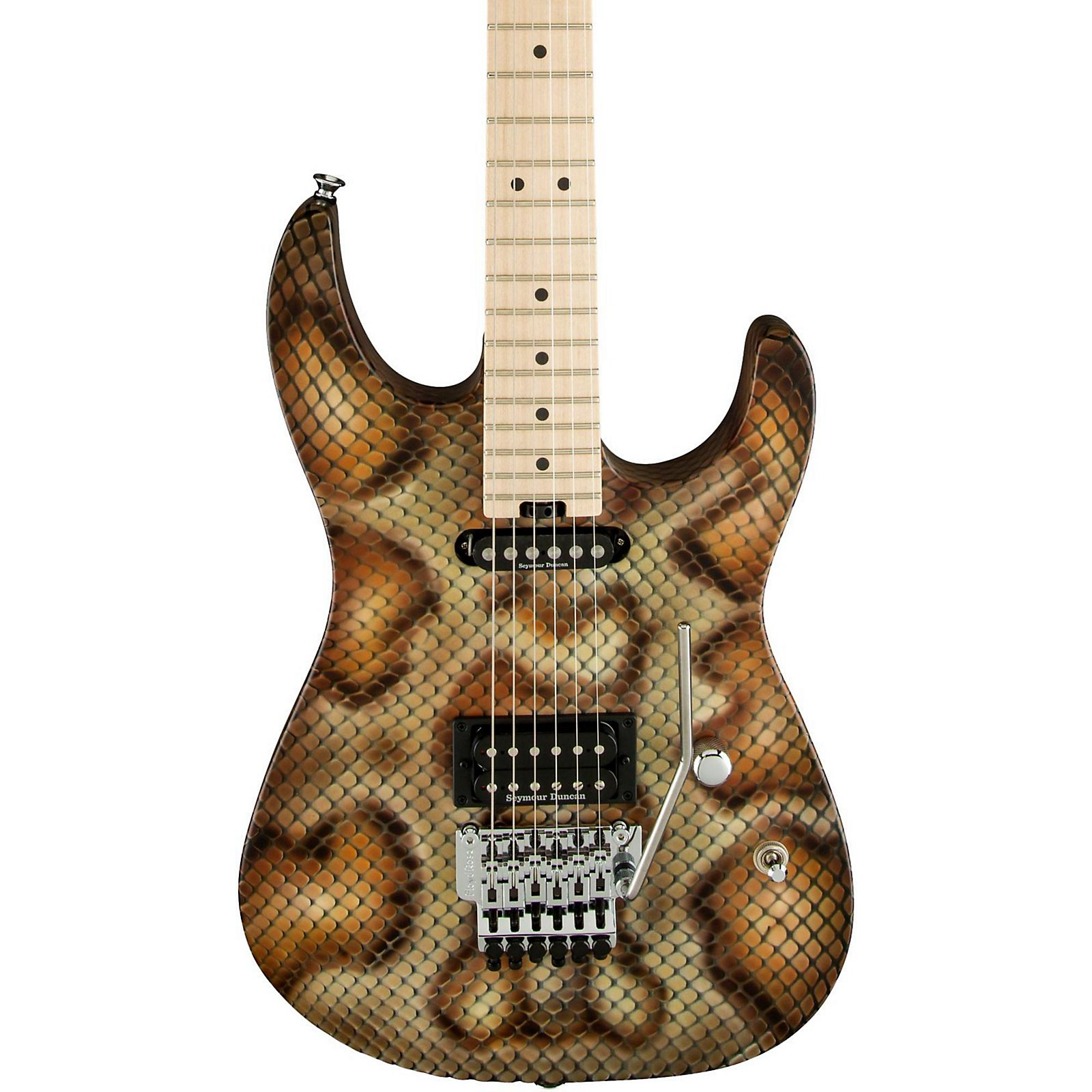 Open Box Charvel Warren DeMartini Signature Snake Pro Mod Electric Guitar