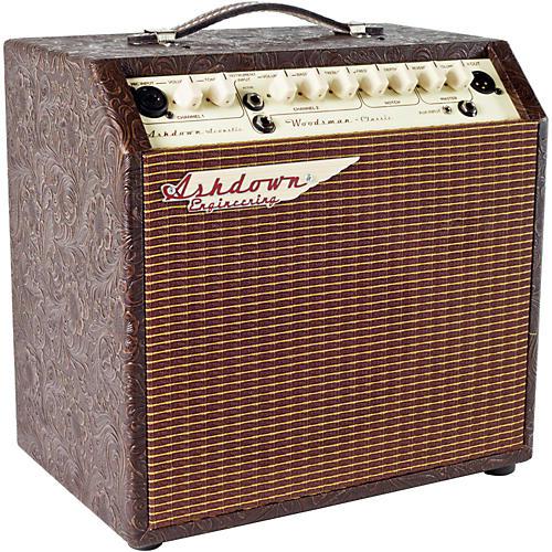 Open Box Ashdown Woodsman Classic 40W 2 Channel 1x8 Acoustic Guitar Combo Amp w/ Reverb