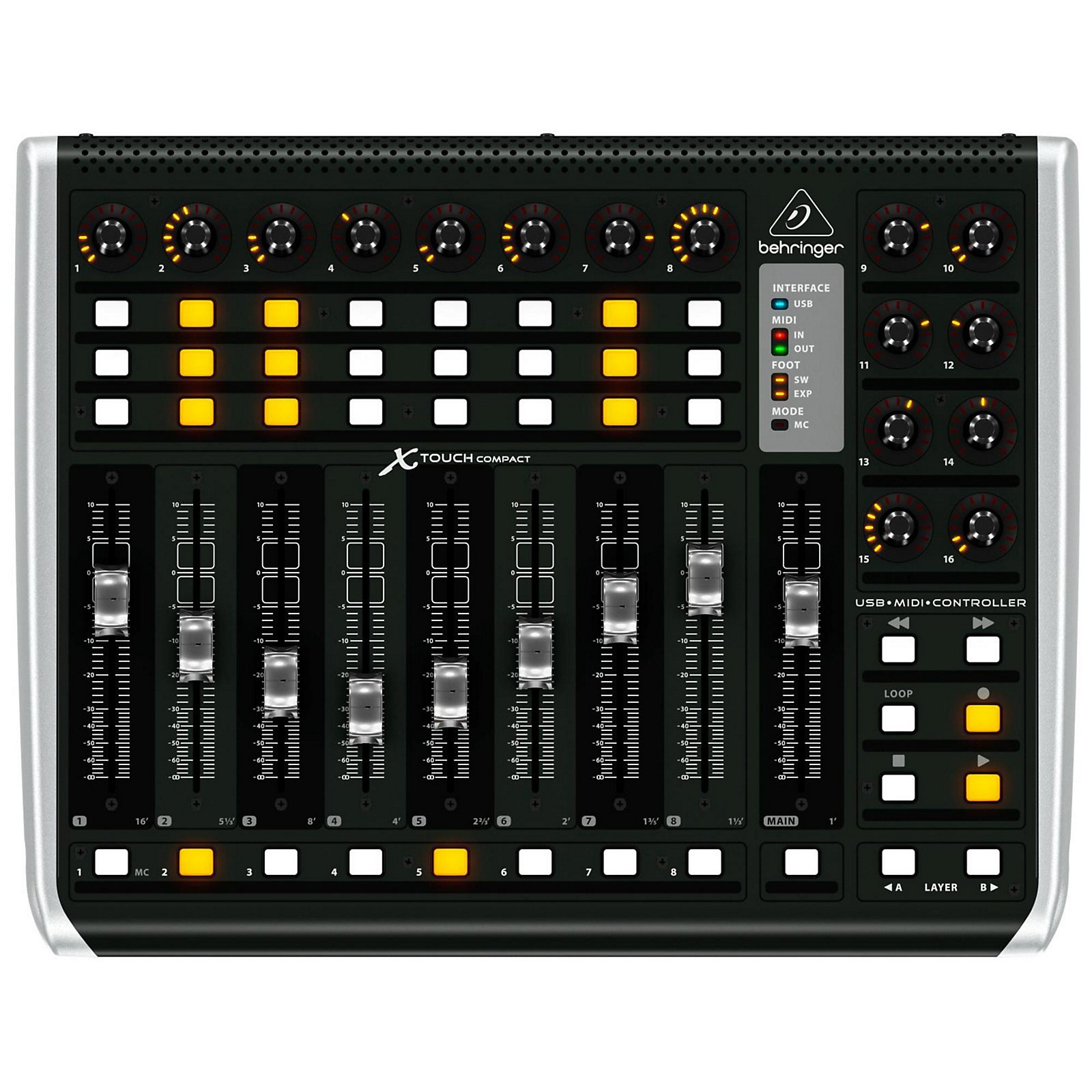 Open Box Behringer X-TOUCH COMPACT Universal Control Surface
