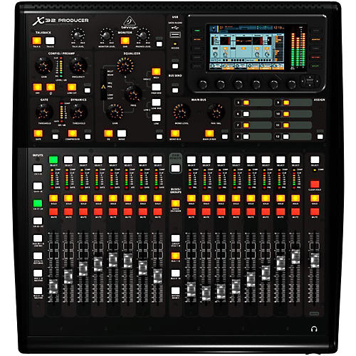 Open Box Behringer X32 Producer 40-Input Channel 25-Bus Digital Mixing Console