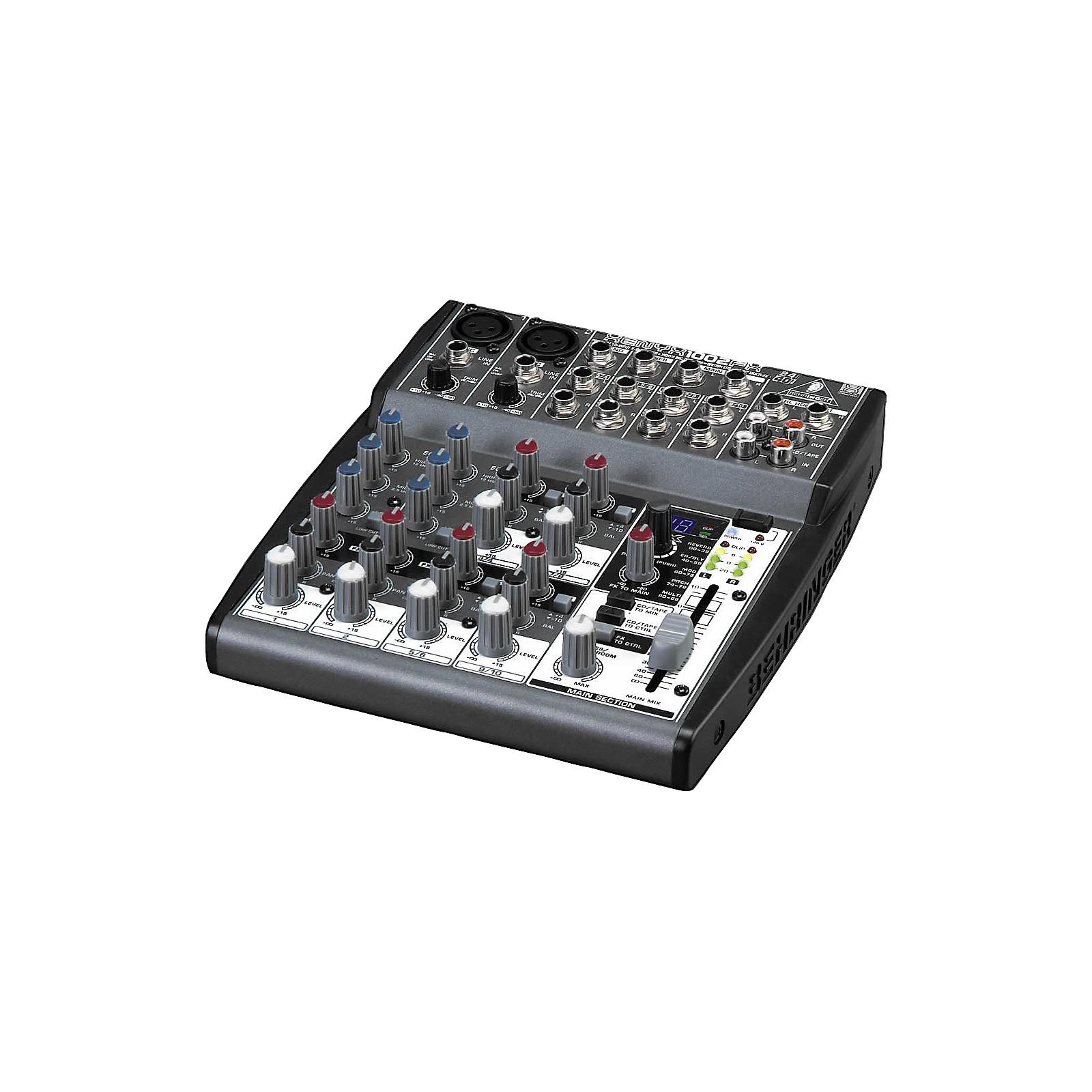 Open Box Behringer XENYX 1002FX Mixer